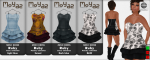 MoYaz dresses (mesh) - L$ 70 each